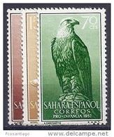 ESPAÑA/SAHARA 1957 - Edifil #139/41 ** MNH - Sahara Español