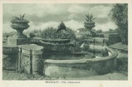 Frascati  Villa Aldobrandini FP - Altre Città