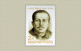 Hungary 1981. Béla Vágó Stamp MNH (**) Michel: 3503 / 0.70 EUR - Ungarn