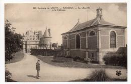 RANDAN--La Chapelle Et Le Château (petite Animation) N°115  éd MTIL---pas Très Courante.......à Saisir - Autres Communes