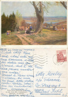Paul Hey, Art Painting Postcard Posted 1970 Stamp - Peintures & Tableaux
