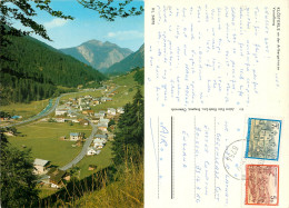 Klosterle An Der Arlbergstrasse, Vorarlberg, Austria Postcard Posted 2001 Stamp - Klösterle