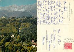 Railway Train, Innsbruck, Tirol, Austria Postcard Posted 1957 Stamp - Innsbruck