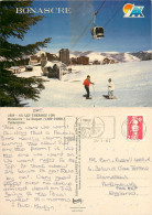 Bonascre – Le Saquet, Ax-les-Thermes, Ariège, France Postcard Posted 1992 Stamp - Ax Les Thermes