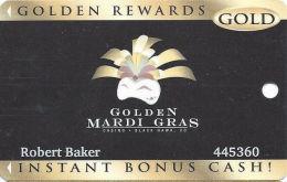 Golden Mardi Gras Casino - Black Hawk, CO - Slot Card - Last Line Text Starts ´date...´ - Casino Cards