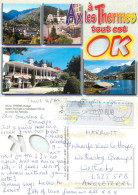 Ax-les-Thermes, Ariège, France Postcard Posted 2009 ATM Meter - Ax Les Thermes