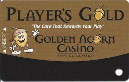 Golden Acorn Casino Campo, CA - Slot Card - Reverse Logo Centered (BLANK) - Casino Cards