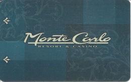 Vintage Monte Carlo Casino Hotel Room Key Card - Hotel Keycards