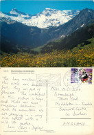 Wild Flowers, Adelboden, BE Bern, Switzerland Postcard Posted 1992 Stamp - BE Berne