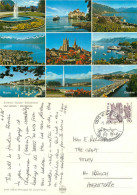 Lac Leman, VD Vaud, Switzerland Postcard Posted 1985 Stamp - VD Vaud