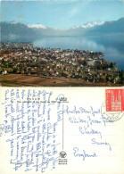 Vevey, VD Vaud, Switzerland Postcard Posted 1965 Stamp - VD Vaud