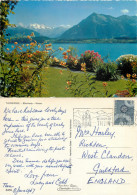 Thunersee, BE Bern, Switzerland Postcard Posted 1967 Stamp - BE Berne