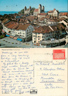 Rapperswil, SG St Gall, Switzerland Postcard Posted 1973 Stamp - SG St-Gall