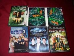 LOT DE 5 DVD 15 EUROS     °°   Ref 248 - Non Classés