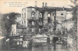 GUERRE De 1914 - SENLIS - Fabrique De Jouets Détruite - DPE - - Guerre 1914-18