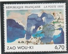 FRANCE 1995 ZAO WOU KI NEUF** YT 2928 - Ungebraucht