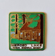 Pin's Merced Lake High Sierra Camp San Francisco - C016 - Altri