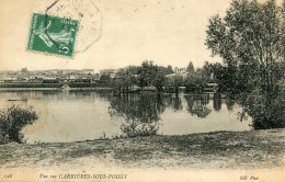 CARRIERES SOUS POISSY(YVELINES) - Carrieres Sous Poissy