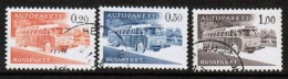1963 Finland Complete Set Bus Parcel Stamps Y-paper Used.