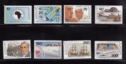 1989 Uganda Anniversaries And Events Complete Set Of 8 MNH - Uganda (1962-...)