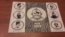 Postcard - Humour, Josef Švejk - Humor
