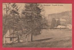 Beaumont - Chapelle St-Julien ... Vue De La Filature - 1933 ( Voir Verso ) - Beaumont