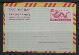 VIETNAM / VIET-NAM - ENTIER POSTAL AEROGRAMME NEUF Et COMPLET HAng-Khong Buu-Chinh Tho May Bay - Vietnam