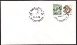 "NORWAY - Kongsberg 3.6.1992 ""Kongens Gruve"" (The Royal Silvermine) - Mineralien"