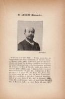 1897 - Iconographie Documentaire - LUIGINI Alexandre (Lyon 1850 - Paris 1906) -  FRANCO DE PORT - Unclassified