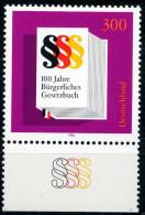 BRD - Mi 1874 - ** Postfrisch (D) - 300Pf                     Bürgerliches Gesetzbuch - BRD