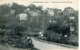 N°50588 -cpa Suresnes -panorama De La Rue Bellevue- - Suresnes