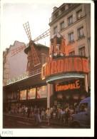 Postcard, France, Paris, Moulin Rouge , Unused, Photo R. Deshayes, 17x12 - París La Noche