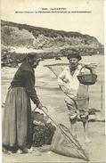 CARANTEC, Marie Jeanne, La Pêcheuse De Crevettes Et Son Bonhomme - Carantec