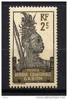 GABON - 50**  - GUERRIER