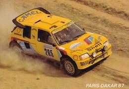 Paris Dakar 1987 205 Turbo 16 Vatanen Giroux Peugeot - Rallyes