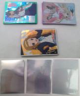 K-On ! / Kud Wafter / Toaru Kagaku No Railgun :  9 + 14 + 10   Japaneses Sleeves - Trading Cards