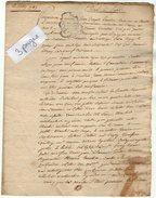 VP5603 - LAGNY - Acte De 1785 - Bail A Louer D'une Maison à Lagny - Manuscrits