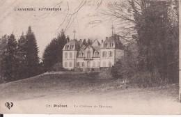 PUY DE DÔME 1911 -- PIONSAT -- Le Château De MONTROY - Francia
