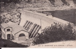 PUY DE DÔME 1911 -- BARRAGE DE LA SIOULE -- L' Usine - France