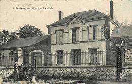 28 FONTENAY SUR EURE  La Mairie      2 Scans - France