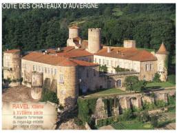 (DEL 360) France - Castle - Chateau De Ravel - Castles