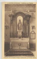 Isère - 38 - Bourg D'oisans Intérieur De L'église Chapelle Ste Vierge Restaurée En Février 1927 Ed Martinotto Grenoble - Bourg-d'Oisans