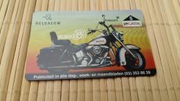 Harley Davidson Phonecard New Only 1000 MAde Very  Rare - Motorbikes