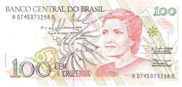 Brazil - Pick 228 - 100 Cruzeiros 1990 - Unc - Brésil