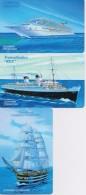 SAN MARINO  PHONECARD GREAT SHIPS 1st Serie-RSM 120,121,122-4000pcs-25/11/05-MINT - San Marino