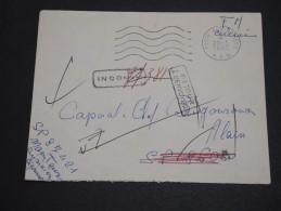 FRANCE - Enveloppe Pour Secteur Postal 86050 Et Inconnu Retour à L ' Envoyeur En 1962 - A Voir - L  3809 - Postmark Collection (Covers)