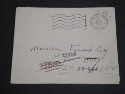 FRANCE - Enveloppe Pour Secteur Postal 87728 Et Redirigé En 1962 ( Voir Verso ) - A Voir - L  3810 - Marcophilie (Lettres)