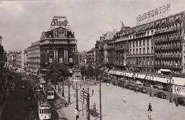 BELGIQUE. BRUXELLES. 3 BELLES CARTES ANNÉES 50; TRAMWAY. VOITURES... - Belgique