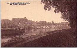CHARTRETTES - La Seine à ROUILLON - France