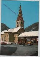 Cpm 748877 La Clusaz L'église (halle Marché Couvert) - La Clusaz